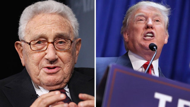 Krauthammer: One sit-down with Kissinger won't help Trump