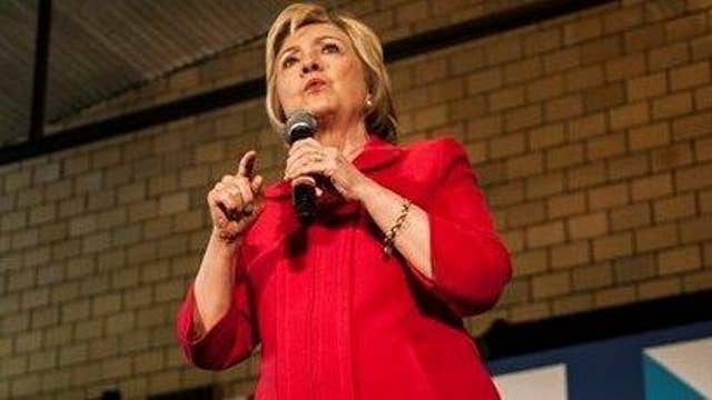 Clinton campaign looks to turn weakness into a strength