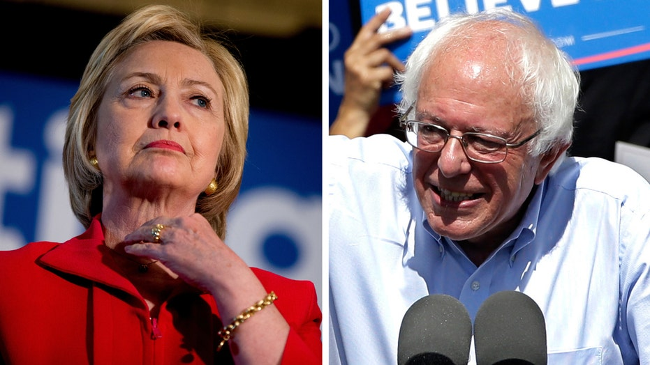 Pressure on Clinton to put Sanders away with primary wins