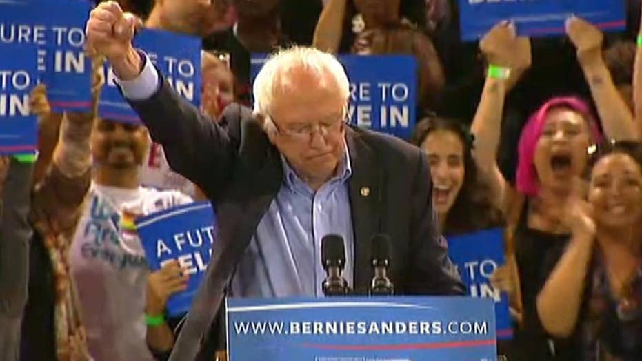 Sanders vows to fight to the Democratic National Convention