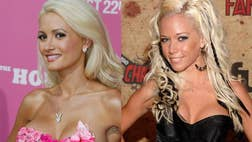 """Kendra Wilkinson attacked Holly Madison on Twitter over negative things Madison wrote about Hugh Hefner in her new book """"The Vegas Diaries."""
