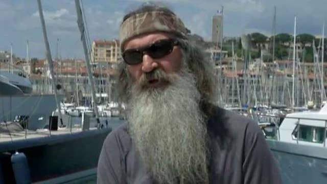 Is Phil Robertson on the 'Trump train'?