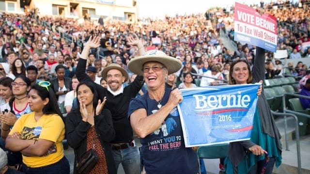 'West coast, best coast' for Sanders?