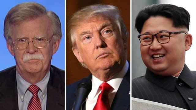 Amb. Bolton: 'Bad idea' for Trump to meet with Kim Jong Un