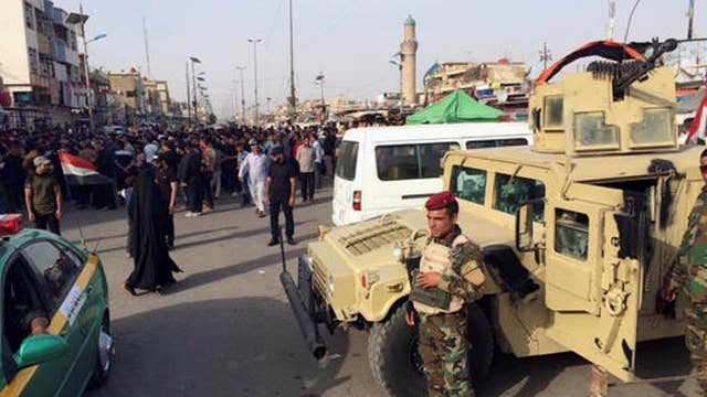 CENTCOM fears Iraqi troops may pull back to fortify Baghdad