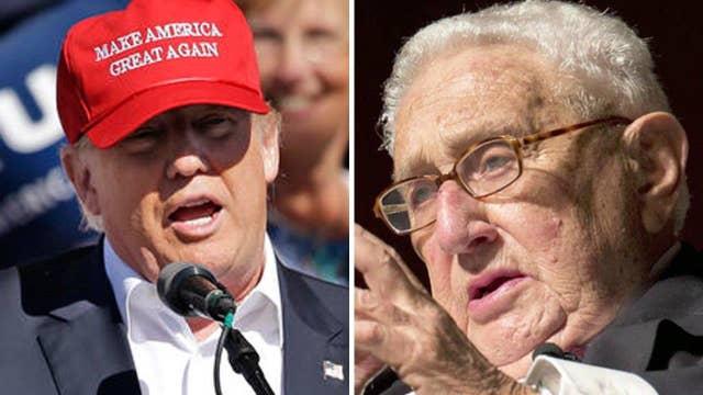 Can Donald Trump get Henry Kissinger's endorsement?