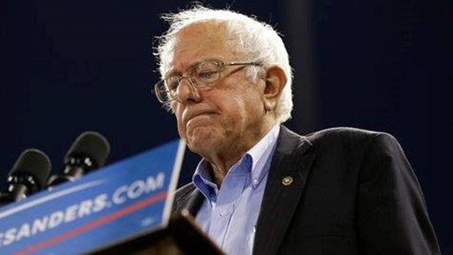 Bernie Sanders repeats vow to stay in race