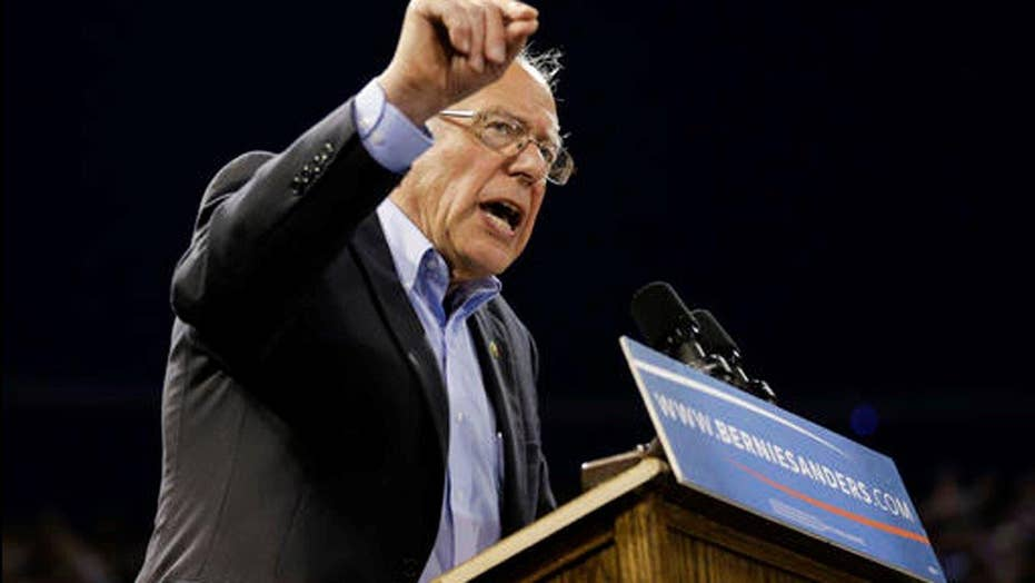 Sanders refuses to go away amid deep divisions with DNC