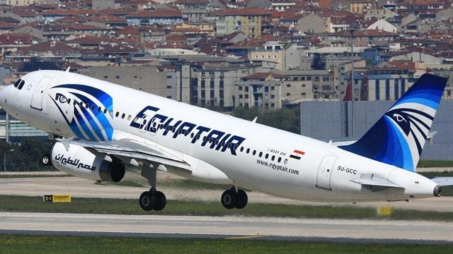Teams combing Mediterranean Sea for missing EgyptAir plane
