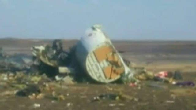Concerns about possible terror links after EgyptAir crash