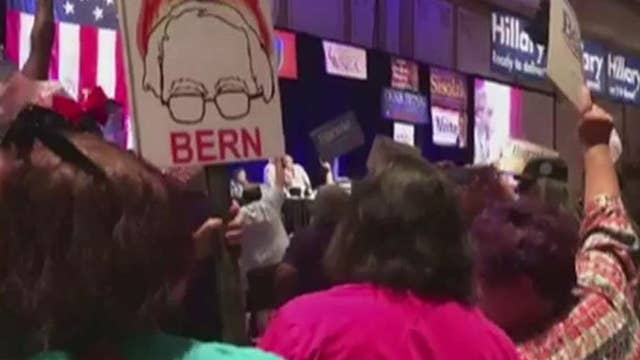 Sanders supporters threatening members of Democratic Party