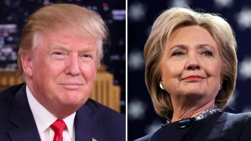 GOP presumptive nominee has 45-42 percent edge in hypothetical head-to-head matchup