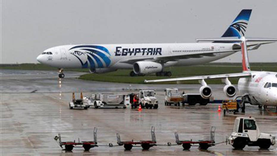 Investigation under way on crash of EgyptAir Flight 804