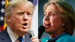 Poll: Voters trust Trump over Clinton to tackle terror