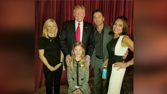 Judge Jeanine and Scott Baio visit Trump Tower