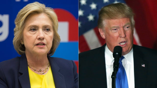 Trump hits back at Clinton for calling him 'not qualified'