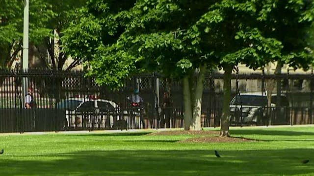 White House lawn cleared amid report of shooting