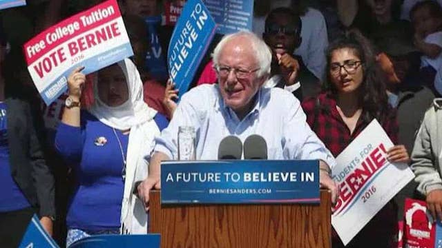 Prominent Democrats trying to appease Sanders supporters