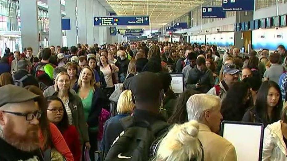 Report: TSA spends millions on uniforms, PR amid wait times