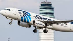 The doomed EgyptAir Flight  was busy transmitting data messages to ground stations just before falling off radar screens.