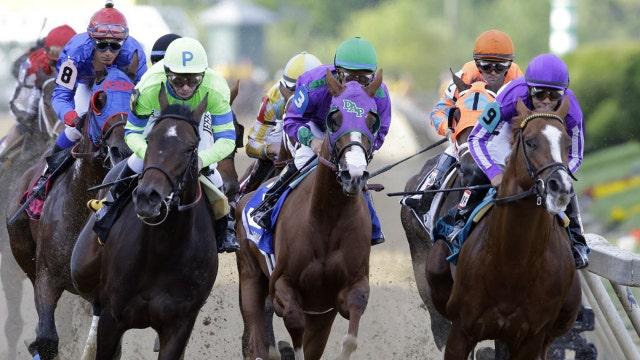 Two horses die in early Preakness races