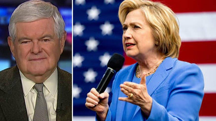 Former House speaker reacts to polls that show a tight race between Trump and Clinton