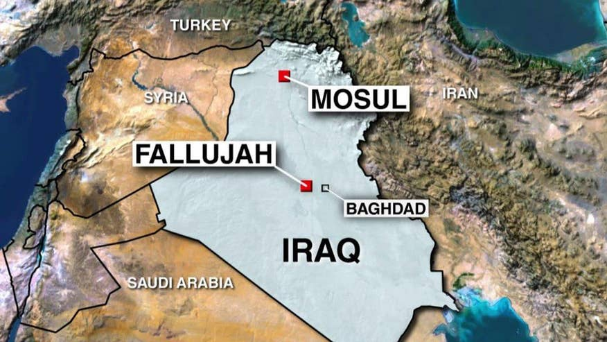 Iraqi military launches operation to retake city of Fallujah from ISIS