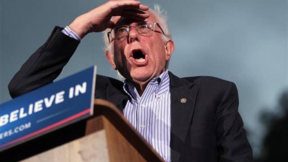 Sanders campaigns in Calif. ahead of June 7th primary