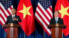 President Obama announces end to 41-year-old ban on sale of military equipment to Vietnam