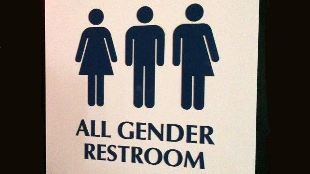 Transgender bathroom controversy continues on air videos for Transgender bathroom debate