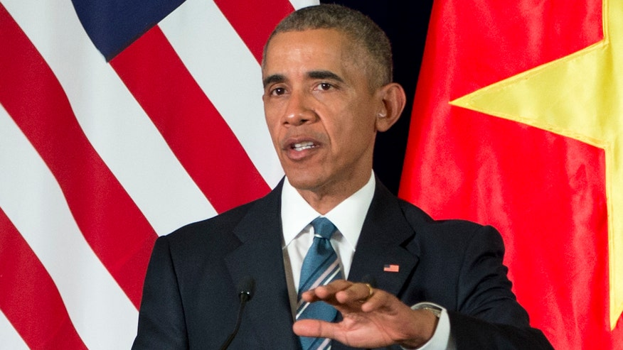 Obama ends 41 year ban on the sale of military equipment to Vietnam
