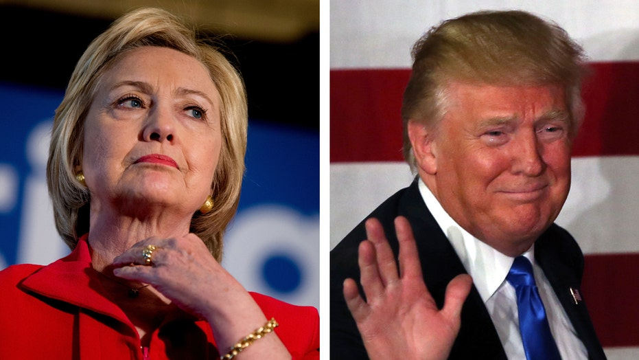 Trump tops Clinton in national polling for first time