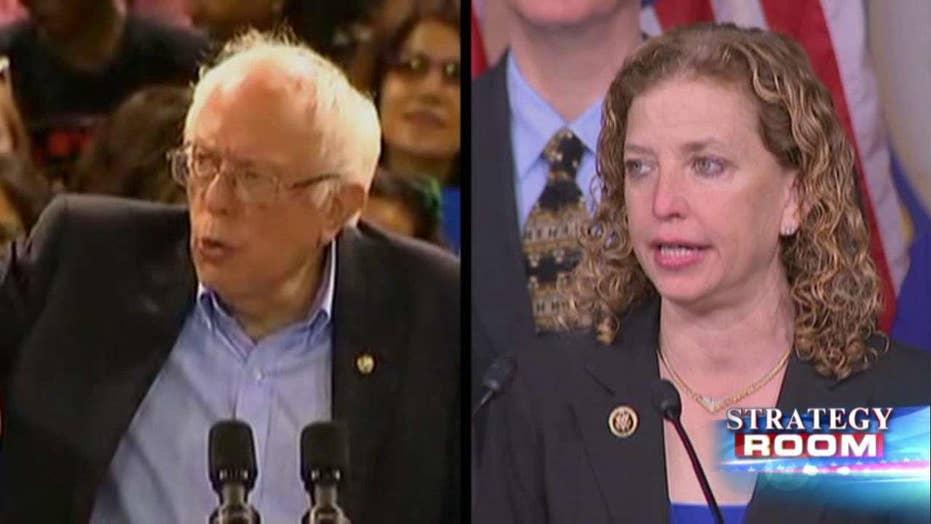 Bernie Sanders vs. Debbie Wasserman Schultz