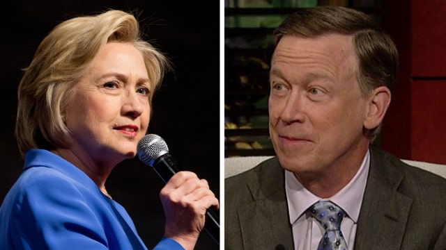 Why Gov. Hickenlooper is sticking with Hillary Clinton