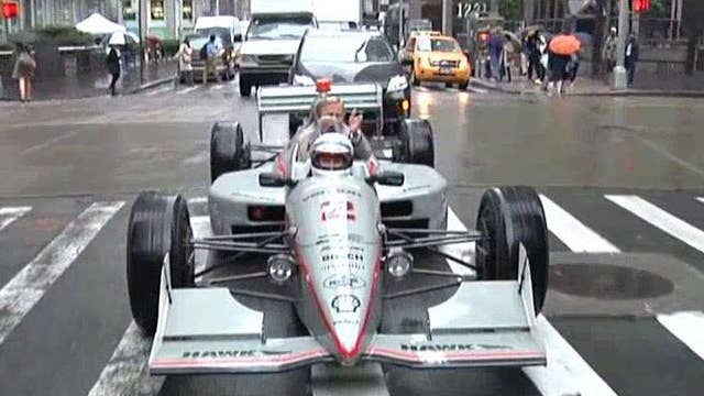 Dooce on the Loose: Cruisin' NYC in an Indy 500 car