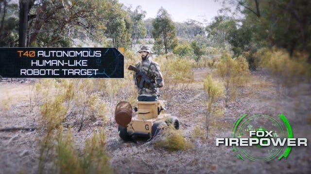 Inside look at the military's live firefights with robots