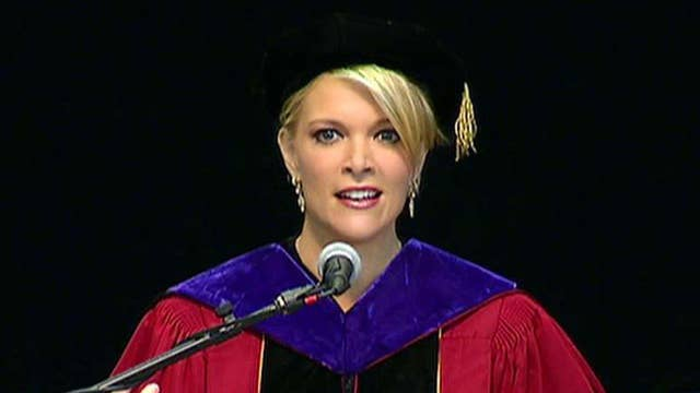 Megyn Kelly's message to the class of 2016