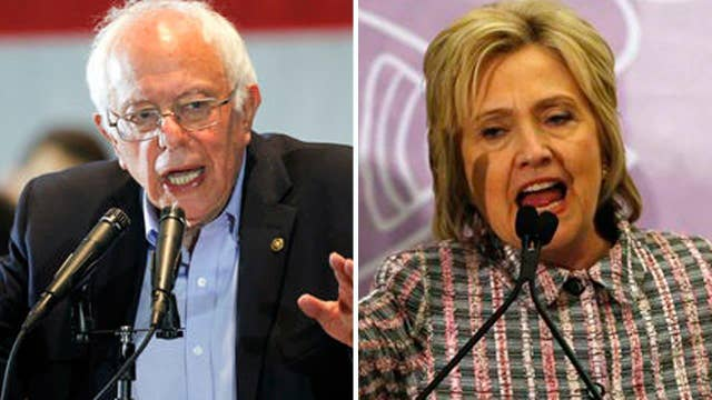 Sanders keeps up attacks on Clinton ahead of California