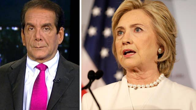 Krauthammer: Hillary Clinton still searching for a message
