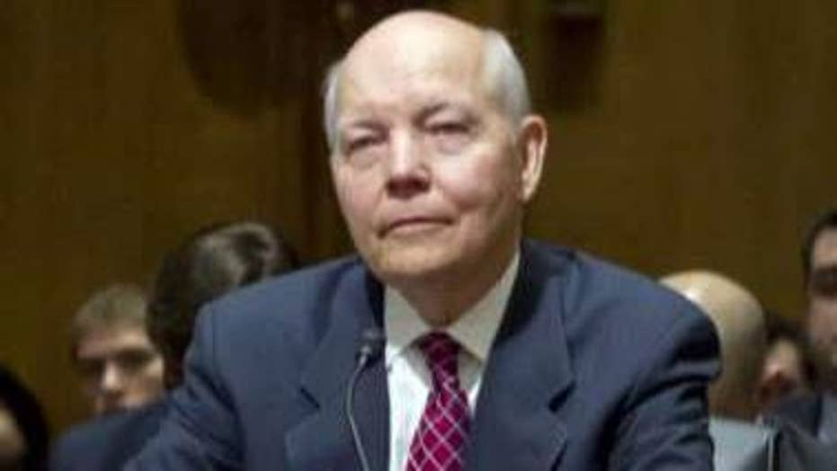 Two congressmen testify against IRS commissioner