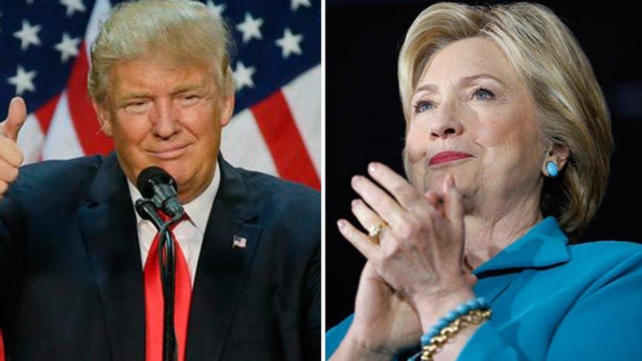 Trump kicks off West Coast fundraising amid Clinton attacks