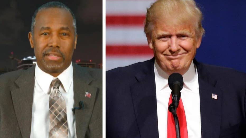 Dr. Carson on why it's time for GOP to unify behind Trump