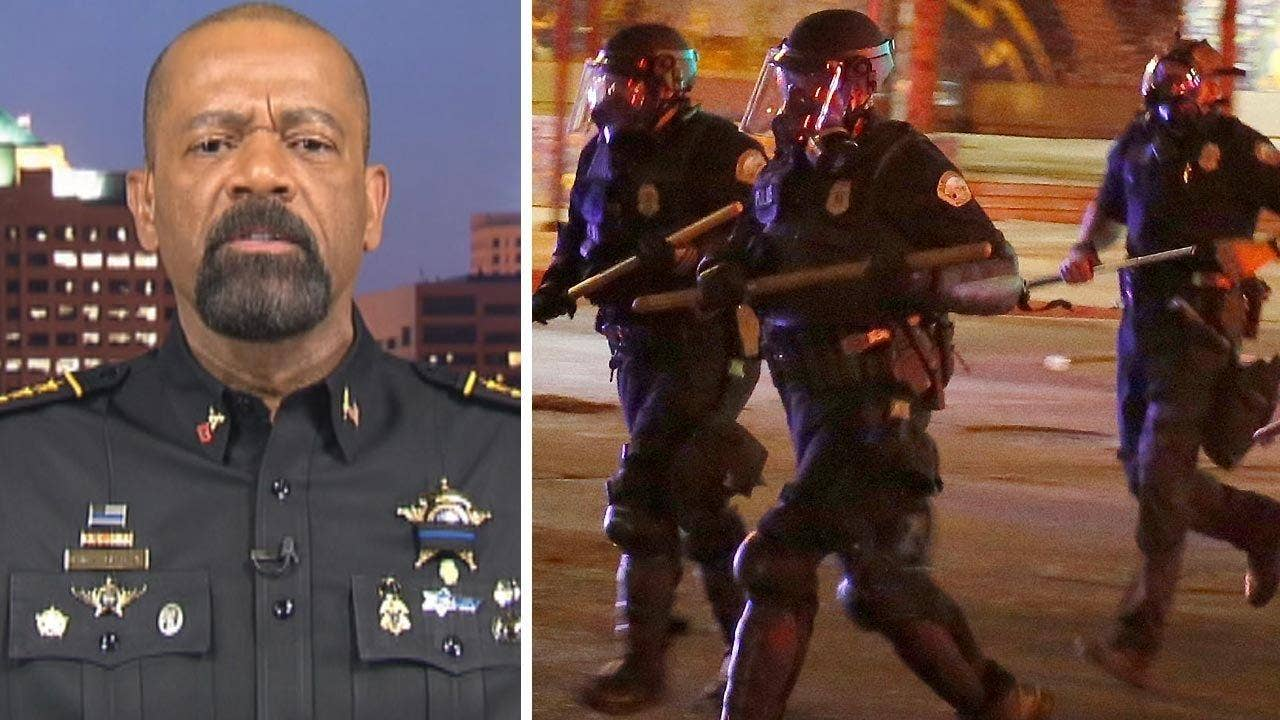 Milwaukee sheriff and retired NYPD detective Bo Dietl react on 'Hannity' to New Mexico anti-Trump protests