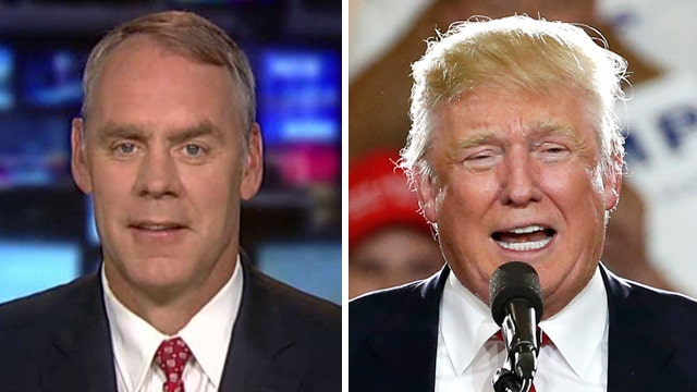 Rep. Ryan Zinke endorses Donald Trump for president