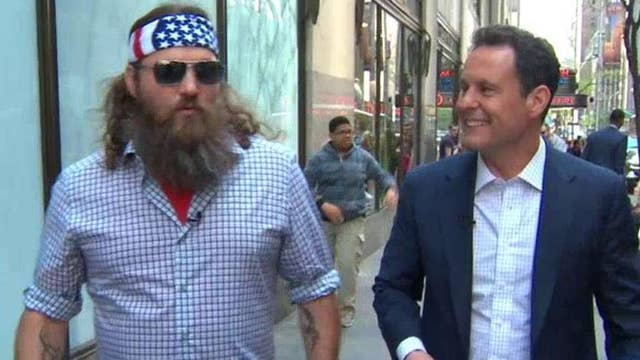 'Celebrity Stroll' with Willie Robertson