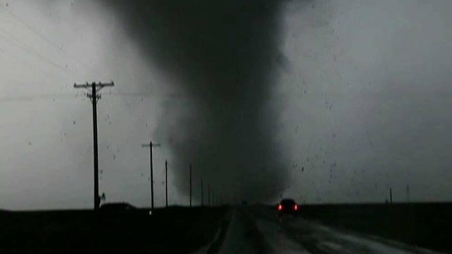 At least two people injured after tornados rip across the Great Plains