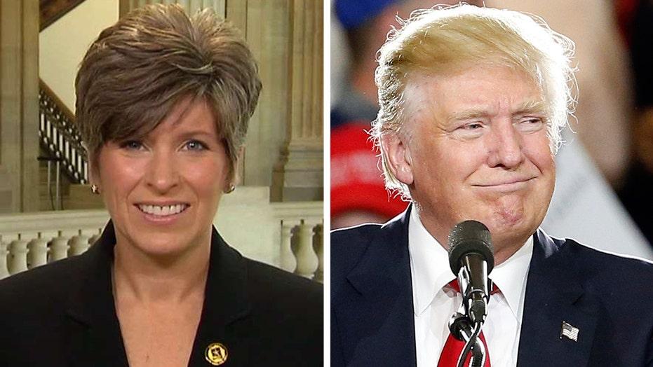 Sen. Joni Ernst in the running to be Trump's VP?