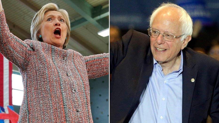 Clinton, Sanders hold rallies across Calif. ahead of primary
