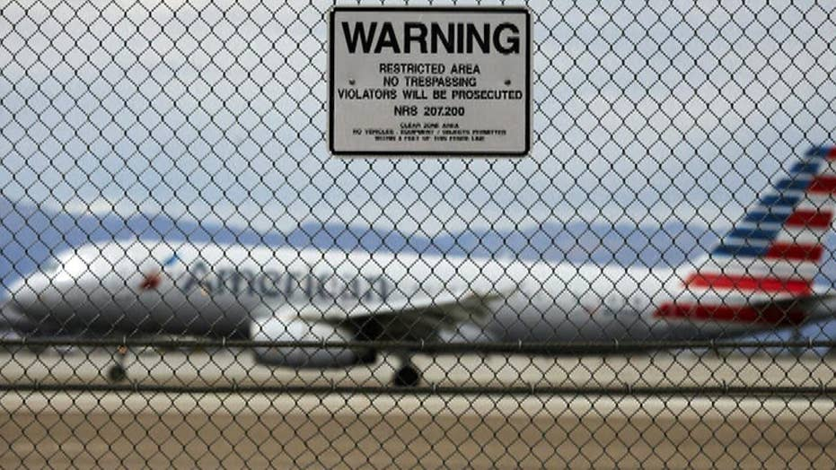 Report: US airport fence breach occurs about every two weeks