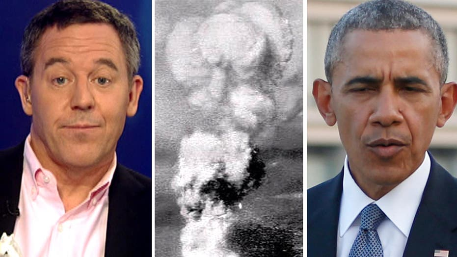 Gutfeld: Obama doesn't connect the dots in Hiroshima